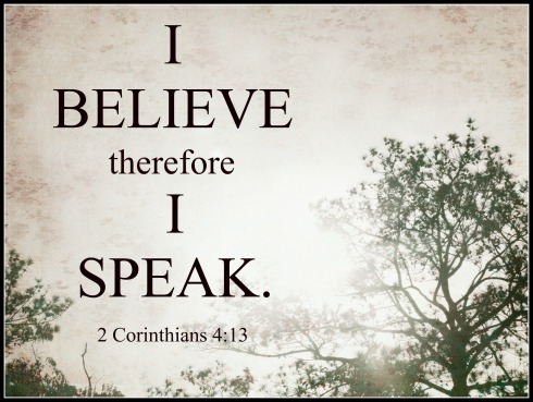 2 Corinthians 4:13