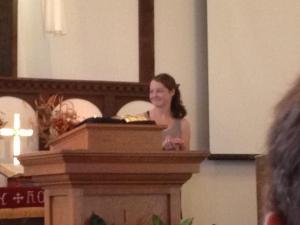 Sara Baptism Testimony